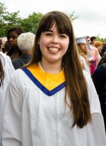 Valedictorian Ewa Gerlak '15