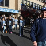 Mr. Sheldon leads the 2015 Walkathon