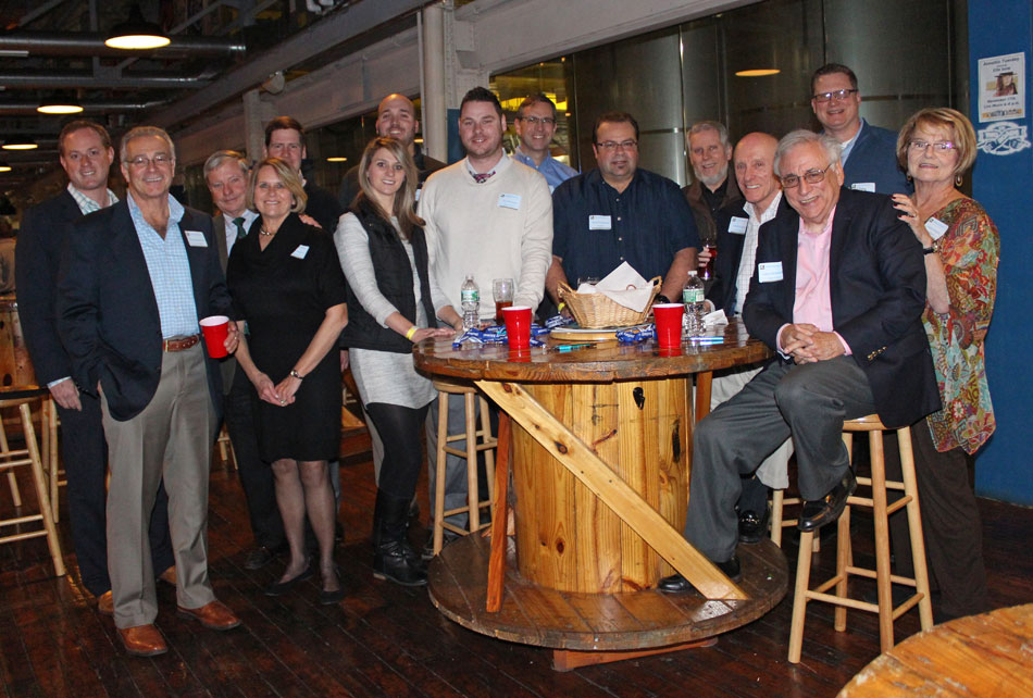 Group photo at Connecticut Alumni Event