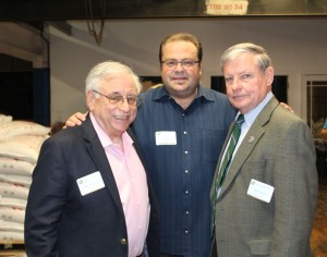 L-R: John DiGiloramo '64, Richard Karsten '81, Bill Dunn '64.