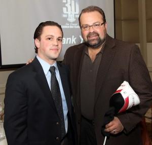 Chairman Joe Papavero '04 and President Richard Karsten '81