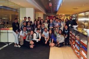 Molloy Students at Bloomberg