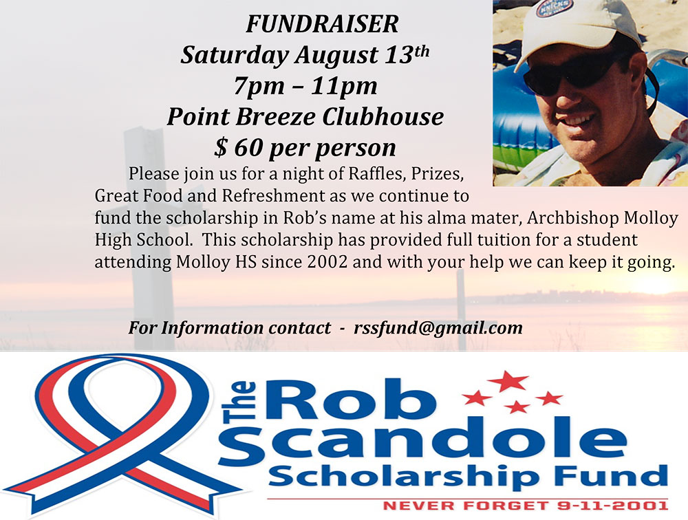 Robert Scandole Scholarship Fundraiser