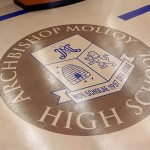 Molloy's new main lobby and front entrance.