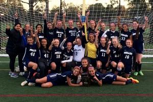 "Girls JV Soccer ""A"" Division Champs"