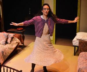 Tiffany McCue '12 as Margot Frank