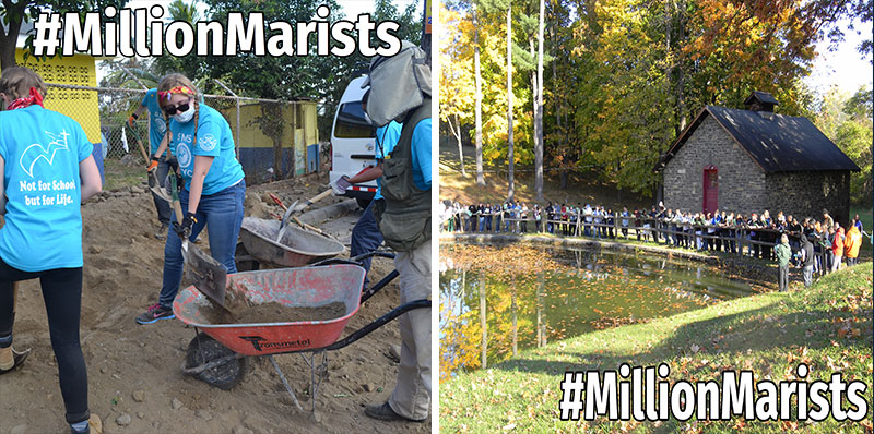 Photos from SMCS trips or Esopus Retreat would be great to tweet with #MillionMarists